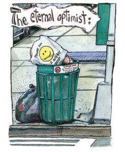 Eternally Optimistic by Sam Ferri