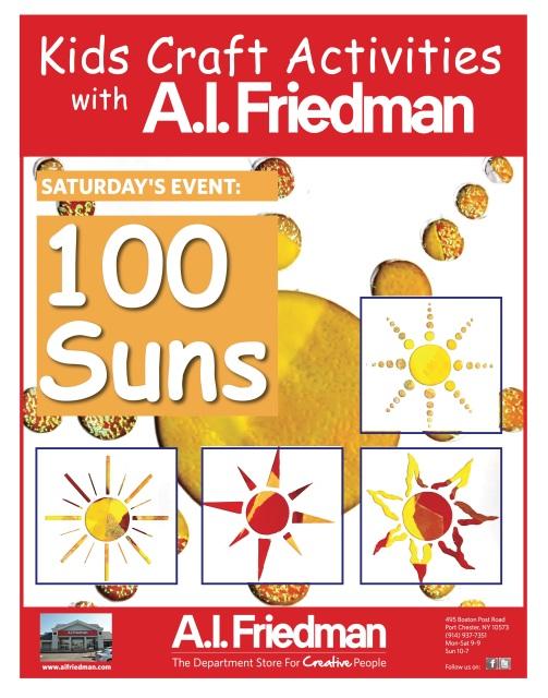 100 Suns with A.I. Friedman
