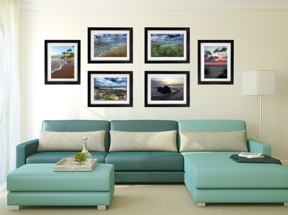 Gallery wall using Gallery Magic