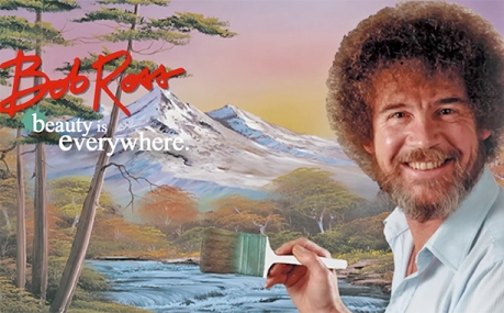 Bob Ross Beauty is Everywhere