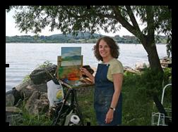 Artist Phyllis Tarlow