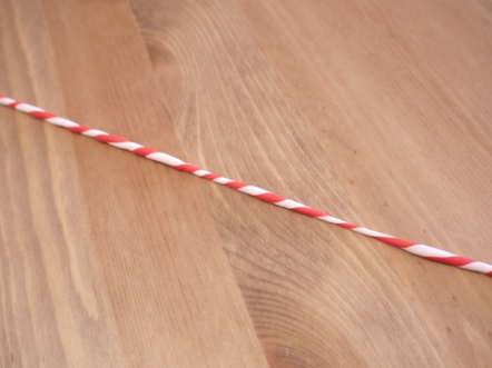 Now it looks like a candy cane!
