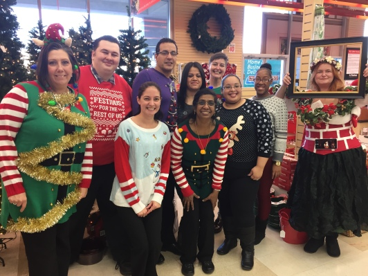 Port Chester Store's Ugly Sweater Participants!