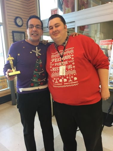 Best Ugly Sweater Winner at Port Chester