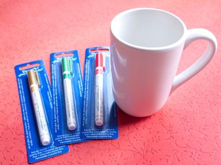 Things you need to make the Quick Holiday Mug DIY Gift Project