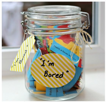 Bored jar and activity ideas