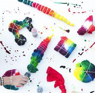 20 Summer Tie Dye Techniques
