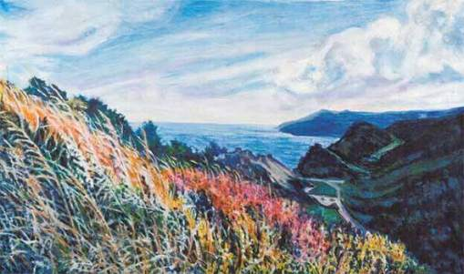 Landscape by Vivian Bergenthal